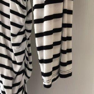 Jessica Simpson Tops - Jessica Simpson striped maternity Top